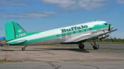 A picture of CGWZS - Douglas DC3C - Buffalo Airways - © Michael Eaton