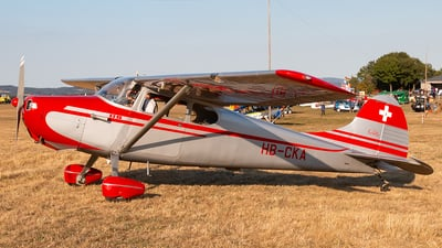 HB-CKA - Cessna 170A - Private