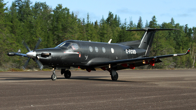 C-FCVD - Pilatus PC-12/45 - Chrono Aviation