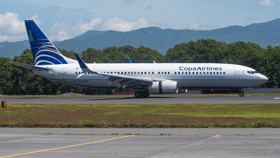 HP-1720CMP - Boeing 737-8V3 - Copa Airlines