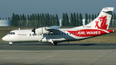 G-TAWE - ATR 42-320 - Air Wales