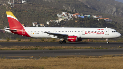 EC-JDR - Airbus A321-211 - Iberia Express