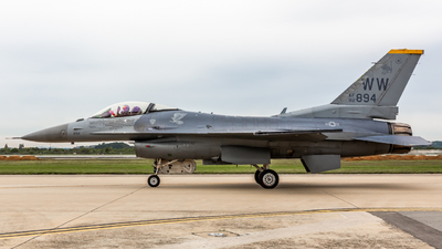 92-3894 - General Dynamics F-16C Fighting Falcon - United States - US Air Force (USAF)