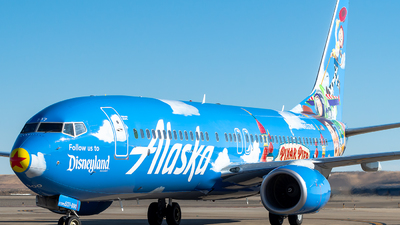 N537AS - Boeing 737-890 - Alaska Airlines