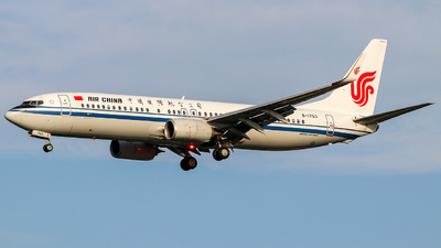 B-1763 - Boeing 737-89L - Air China