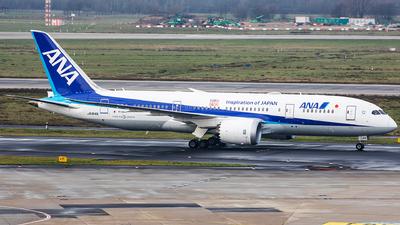 JA814A - Boeing 787-8 Dreamliner - All Nippon Airways (ANA)