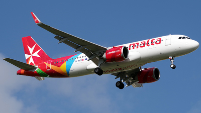 9H-NED - Airbus A320-251N - Air Malta