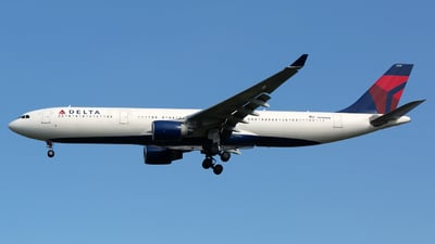 A picture of N810NW - Airbus A330323 - Delta Air Lines - © Chris Pitchacaren