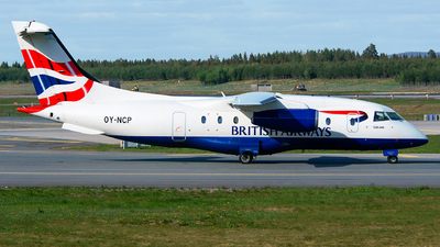 OY-NCP - Dornier Do-328-300 Jet - Sun-Air of Scandinavia