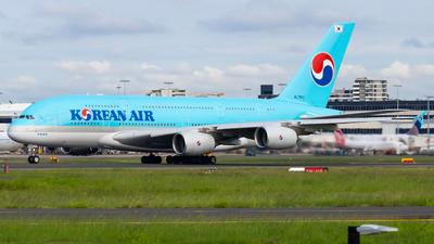 A picture of HL7612 - Airbus A380861 - Korean Air - © Clayton Ferguson