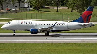N874RW - Embraer 170-100SE - Delta Connection (Shuttle America)
