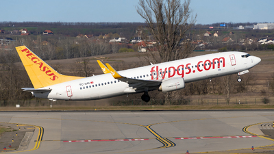 A picture of TCCPI - Boeing 73782R - Pegasus Airlines - © Faller Tamás