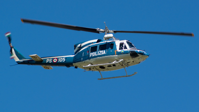 MM81656 - Agusta-Bell AB-212AM - Italy - Polizia di Stato