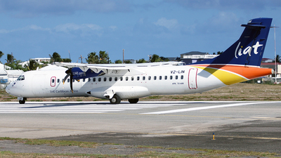 V2-LIN - ATR 72-212A(600) - Leeward Islands Air Transport (LIAT)