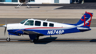 N6748P - Beechcraft A36 Bonanza - Private