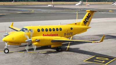 D-CUTE - Beechcraft B300 King Air 350 - ADAC Luftrettung (Aero-Dienst)