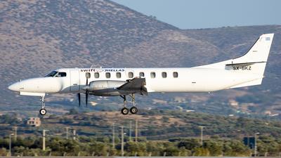 A picture of SXBKZ - Fairchild Swearingen Metroliner - Swiftair - © Kostas Marmarelis