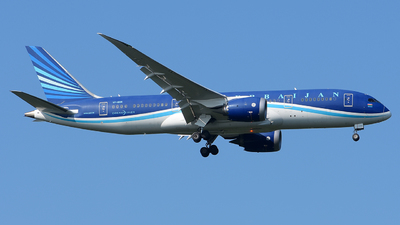 A picture of VPBBR - Boeing 7878 Dreamliner - Azerbaijan Airlines - © Luca Cesati