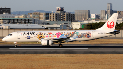 JA252J - Embraer 190-100STD - J-Air