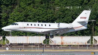 N339B - Cessna 680 Citation Sovereign - Private