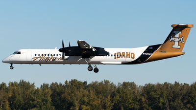 N400QX - Bombardier Dash 8-Q402 - Alaska Airlines (Horizon Air)