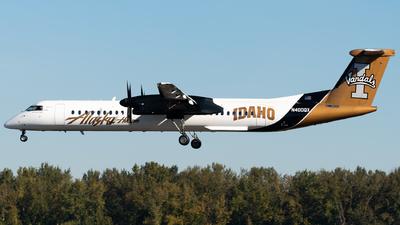 A picture of N400QX - De Havilland Canada Dash 8400 - Alaska Airlines - © Nick Sheeder