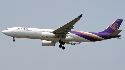 HS-TEN - Airbus A330-343 - Thai Airways International