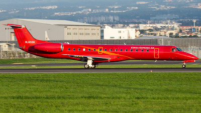 A picture of HL8358 - Embraer ERJ145LR - Korea Express Air - © Jae Won Kim-Korea Aero Photos