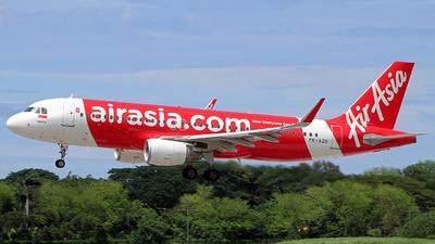 PK-AZO - Airbus A320-216 - Indonesia AirAsia