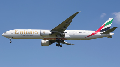 A picture of A6EQP - Boeing 77731H(ER) - Emirates - © Chris Pitchacaren