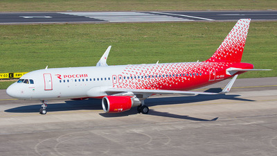 VQ-BSG - Airbus A320-214 - Rossiya Airlines