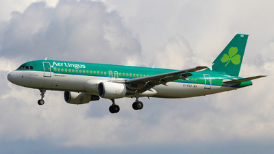 A picture of EIDVG - Airbus A320214 - Aer Lingus - © Pj Mackey