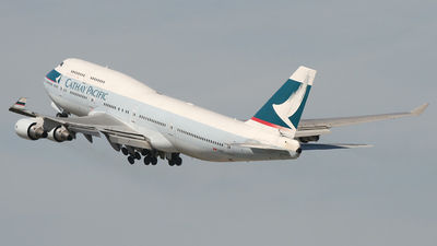 B-HKD - Boeing 747-412 - Cathay Pacific Airways