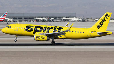 N644NK - Airbus A320-232 - Spirit Airlines