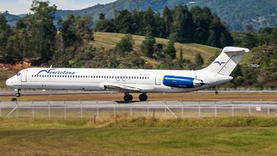 YV191T - McDonnell Douglas MD-82 - Venezolana - Linea Aérea de Venezuela