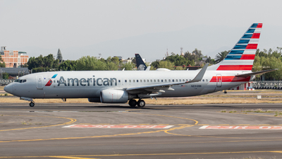 A picture of N849NN - Boeing 737823 - American Airlines - © Miguel Fiesco (MMMX Spotter)