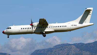 OY-RUG - ATR 72-202 - Danish Air Transport (DAT)
