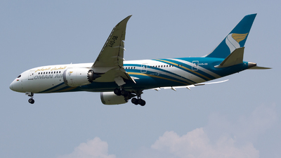 A picture of A4OSB - Boeing 7878 Dreamliner - Oman Air - © Arvin L