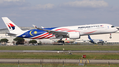 F-WZFS - Airbus A350-941 - Malaysia Airlines