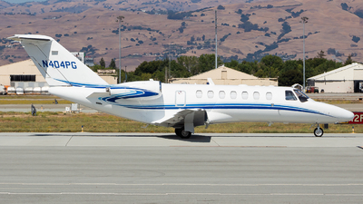 N404PG - Cessna 525B CitationJet 3 - Private