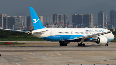 A picture of B7838 - Boeing 7879 Dreamliner - Xiamen Air - © Snake_ZSAM