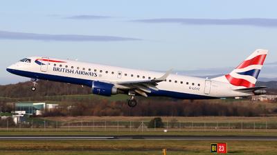 G-LCYZ - Embraer 190-100SR - BA CityFlyer