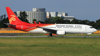 A picture of B5322 - Boeing 73786N - Shenzhen Airlines - © NRT Spotter