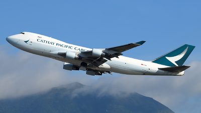 B-LIB - Boeing 747-467ERF - Cathay Pacific Cargo