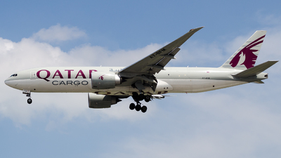 A picture of A7BFM - Boeing 777FDZ - Qatar Airways - © Wafi Ammar - sv.Jet
