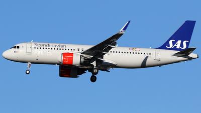 EI-SIA - Airbus A320-251N - Scandinavian Airlines (SAS)