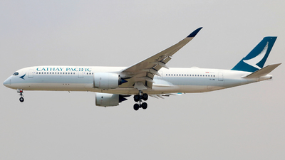 B-LRU - Airbus A350-941 - Cathay Pacific Airways