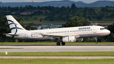 A picture of SXDVV - Airbus A320232 - Aegean Airlines - © Dominik  Hermann