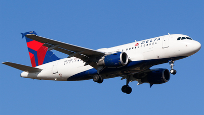 A picture of N370NB - Airbus A319114 - Delta Air Lines - © Alec Mollenhauer