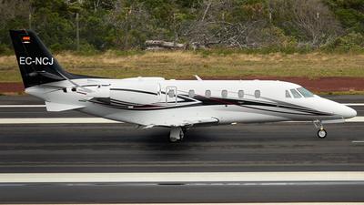 EC-NCJ - Cessna 560XL Citation XLS+ - Private